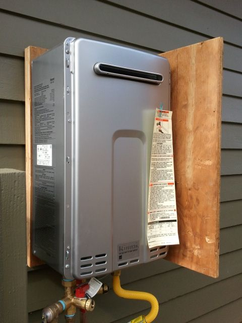 tankless hot water heater repair and installation
